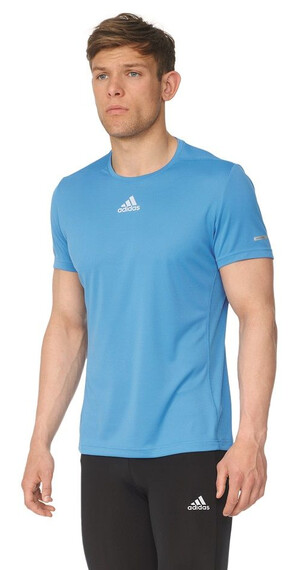 adidas Sequencials CC Short Sleeve Men ray blue f16